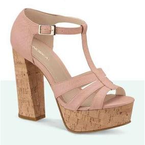 Sandalias Con Correa Y Plataforma - Zapatos en Mercado Libre México 08858a3efd56