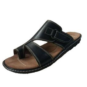 9cd9afab7d3 Chinelas Cuero Hombre - Zapatos Negro en Mercado Libre Argentina