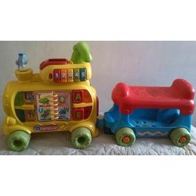 Triciclo, Carro Montable Vtech, Tren Para Niños/niñas...
