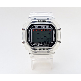 7cb3fbf13756 Reloj Casio Color Unisex Reloj Transparente 2018