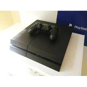 Playstation 4 Ps4 + Jogo 500gb Modelo Fosco Garantia