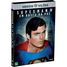 Dvd - Superman 4: Em Busca Da Paz (com Luva)