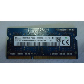 Memoria Para Laptop De 4 Gb Ddr3 12800s Marca Sk Hynix