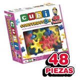 Cubi Constructor 48 Piezas Juego Encastre Nupro Mundo Manias