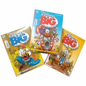 Kit 3 Gibis Big Disney Big Disney Bigdisney - Novos Lacrados