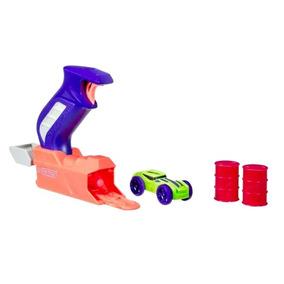 853fe7a9567e2 Lançador Nerf Nitro Throttleshot Carro Verde - Hasbro