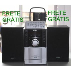 Som Sony Cmt-eh10 Cd Radio Am Fm Usb Mp3 Brinde Frete Grátis
