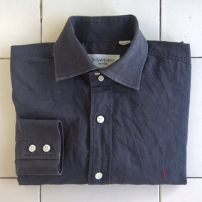 Negra Caballero De Camisa Para Vestir x106F