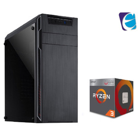 Pc Dragon Ryzen R3 2200g A320m Hd 8gb Fury Ssd120 Bc350 I