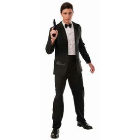 De Adultos Traje Esmoquin Espía Secreto Agente Negro qpxnZ7w