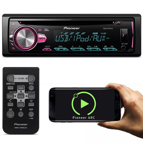 Som Cd Pioneer Deh-x10br Usb Mixtrax Android E Iphone Oferta