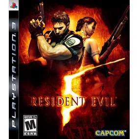 Jogo Resident Evil 5 Playstation 3 Ps3 Mídia Física Original