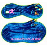 Cable De Plug Estereo 3.5mm A Rca Rojo Y Blanco De 5 Y 10 Mt