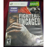 Fighters Uncaged Juego Xbox 360