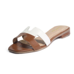 0ec0b6096d6 Sandalia Hermes Feminino Chinelos - Sapatos para Feminino Marrom no ...