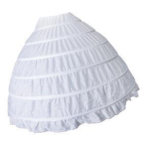 6 Aros Vintage Enagua De Moda Falda De Miriñaque Nupcial A ad4284cb1521