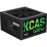 Fuente De Poder Aerocool Kcas-600w 80 Plus Bronce