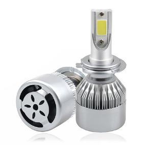 Par Lampada Led H4 72watt 6000k 8200 Lumens Super Branca