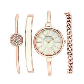 20293530ace Relógio Feminino Anne Klein Preto - Relógios no Mercado Livre Brasil