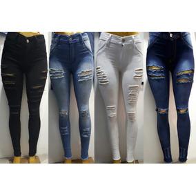 453d3a45b59 Jeans Mujer Rotos - Jeans de Mujer Tiro alto en Mercado Libre Argentina