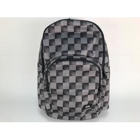 Mochila Vans Alumni Xadrez Grey Backpack School Bag Laptop