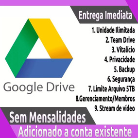 Adicionado A Conta Existente Google Drive Ilimitado F1q