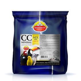 Cc Mineral Mix Com Carvão Biotron - 1,500 Kg