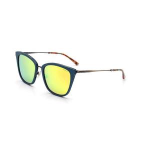 4c19a5ffffded Oculos De Sol Colcci C0072 Azul Fosco Dourado Antique Com Nf