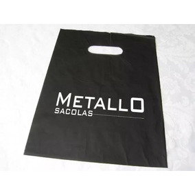 Sacola Plástica Personalizada Impressa 25x35 Cm 500 Pç - Hd
