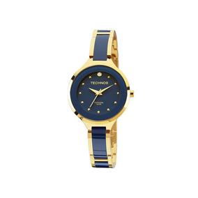 c3e66cba378 Relogio Technos Ceramica Azul - Relógio Feminino no Mercado Livre Brasil