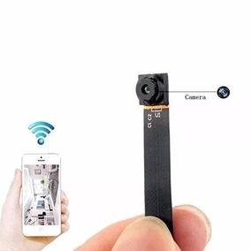 Mini Câmera Escondida Espia Hd Ip Wifi Cctv Celular + Brinde