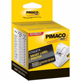 Etiqueta P/impressora Térmica 28x51mm Slp-mlr Pimaco Cx 640