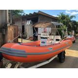 Inflavel Flexboat Sr15 Lx, 1 Ano De Garantia, Como Novo