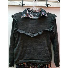 Sweaters Mujer Largo Volados - Ropa y Accesorios en Mercado Libre ... ace6d38f25fb