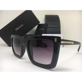 5a7c3557a211e Culos Escuros Feminino Prada - Óculos De Sol Com proteção UV no ...