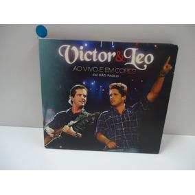 Cd Victor & Léo - Ao Vivo E Em Cores - Gravado Em São Paulo