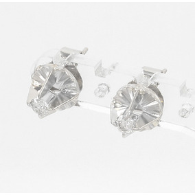 Brinco Solitario Ouro Branco E Diamante - Joias e Relógios no ... c5626c2883