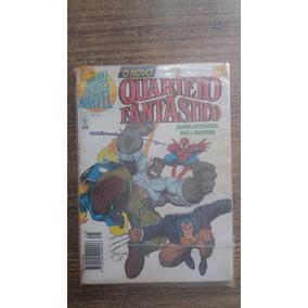 Hq Grande Herois Marvel Quarteto Fantastico 45