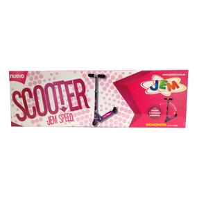 Monopatin Mini Scooter Jem Speed Sooter Violeta