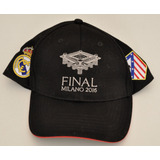 Gorra Champions League Final 2016 Real Madrid Vs Atletico 5a06a5a5956