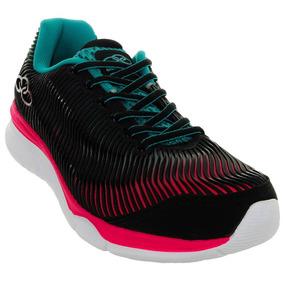 Tênis Running Preto Creative 346 Feminino Olympikus 56151019