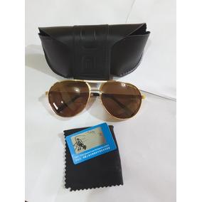 ba419384d43c7 Óculos De Sol Police Dourado - Óculos no Mercado Livre Brasil