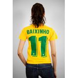 3d0c9a5d33 Camiseta Seleção Brasileira Romario no Mercado Livre Brasil