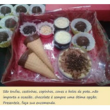 Chocolates Recheados + Cake Pot