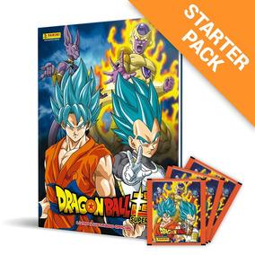 Kit Álbum Capa Dura - Dragon Ball Super + 210 Figurinhas