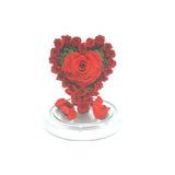 Arreglos De Lujo Rosas Eternas Girasoles Rosas En Cristal