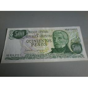 Cédula De Quinientos Pesos