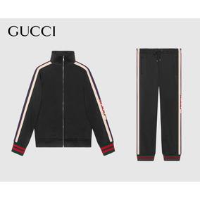 Chamarra Gucci Para Caballero Con Pantalon Tipo Pants
