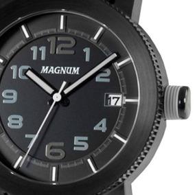 26ac321e014 Pulseira Couro Relogio Masculino Magnum Unissex - Relógios De Pulso ...