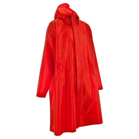 Poncho Capa Impermeable Forclaz Adulto Rojo S/m 8302453 1